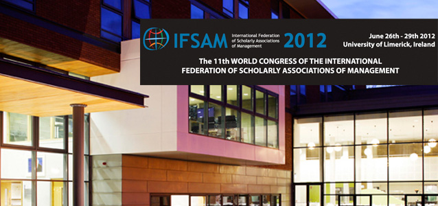 "IFSAM 2012 World Congress ""Management Re-imagined"""