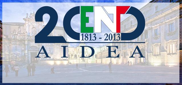 Convegno AIDEA del Bicentenario Lecce 19-21 settembre 2013 Programma
