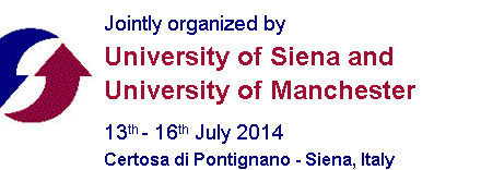 7th Doctoral Summer School in Management Accounting, Siena, 13-16 Luglio 2014