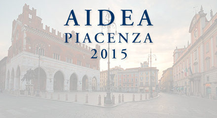 Call for papers – Convegno Aidea Piacenza 2015