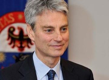 Paolo Collini nuovo Rettore dell'Università di Trento<!