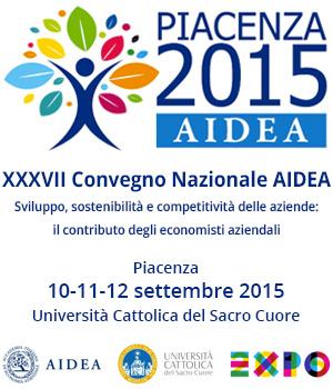 Convegno Aidea Piacenza 2015 – Presentazioni riunione plenaria VQR