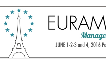 EURAM 2016: MANAGEABLE COOPERATION?