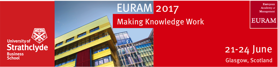 EURAM 2017 (17th conference) – First announcement of Call for papers