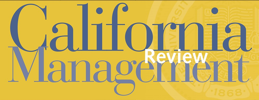 Managing Digital Transformation In Search for New Principles (California Management Review, CMR)