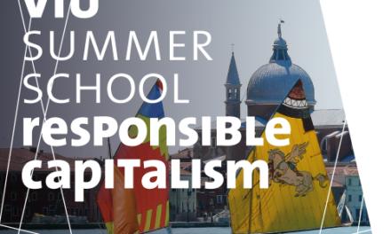 "Scuola estiva ""Responsible Capitalism: Micro and Macro institutional Conditions of Transformation"""