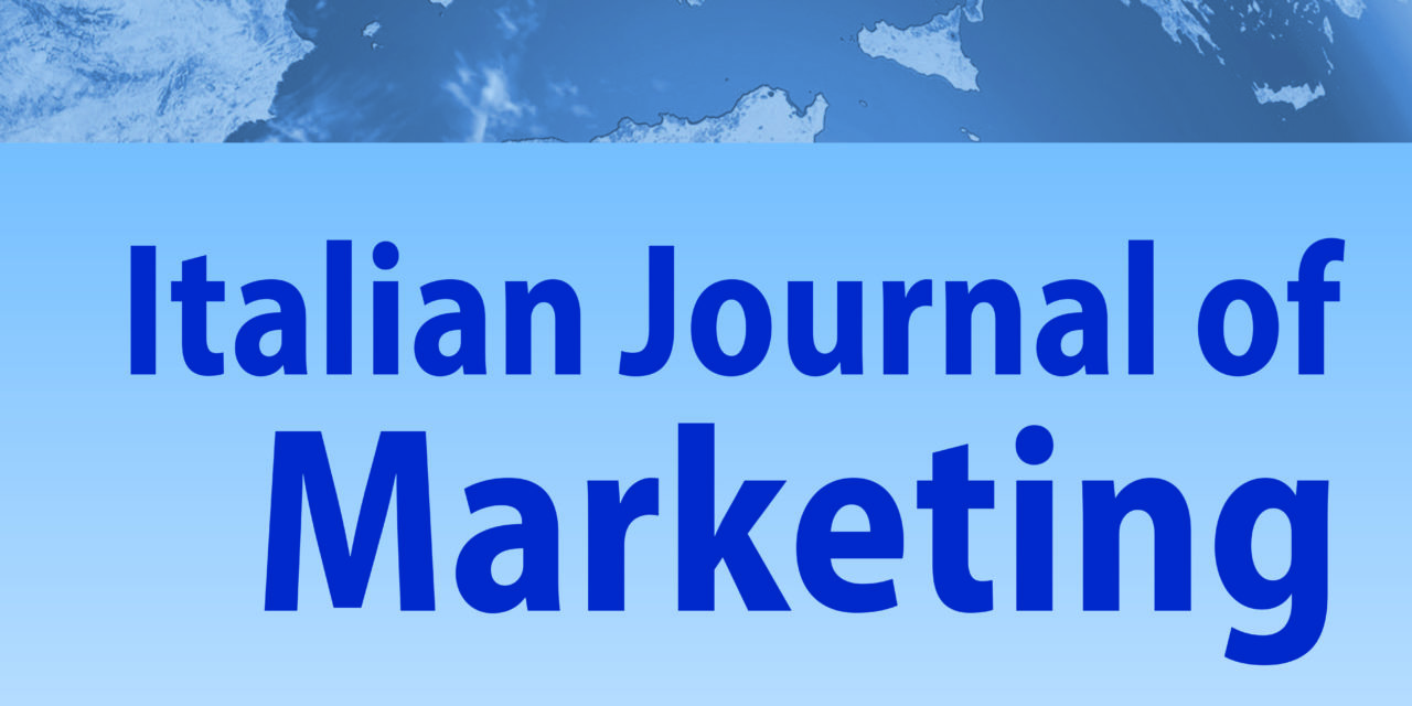 IL NOSTRO IMPEGNO DI FRONTE ALLA CRISI: SIM Affiliate Workshop & Special Issue of the Italian Journal of Marketing
